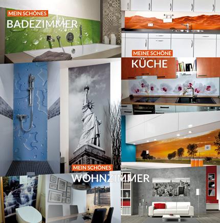 Neumann GmbH - Produkte & Leistungen - meine schöne Wand - Küchen ...