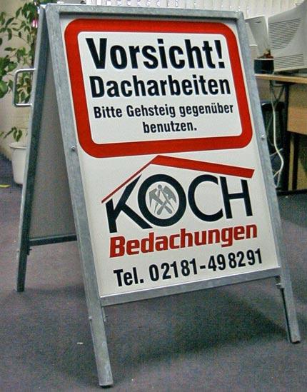 Neumann werbetechnik infos unsere partner werbeland for Koch bedachungen